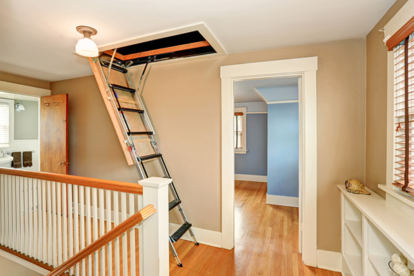 How To Start My Attic Stepladder Installation Le Master