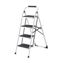 SM-TT6034A Folding Stable Four Step Steel Ladder For Home Stable Master