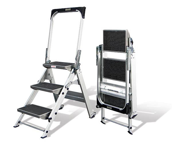 foldable step ladder